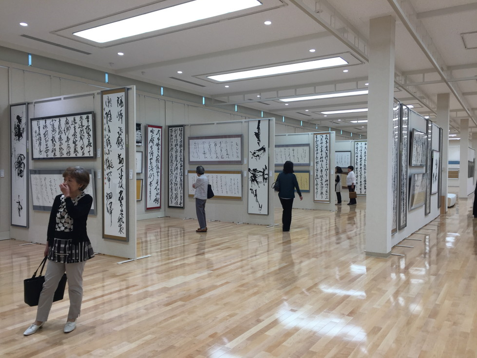第52回兵庫県書道展会場 (61)