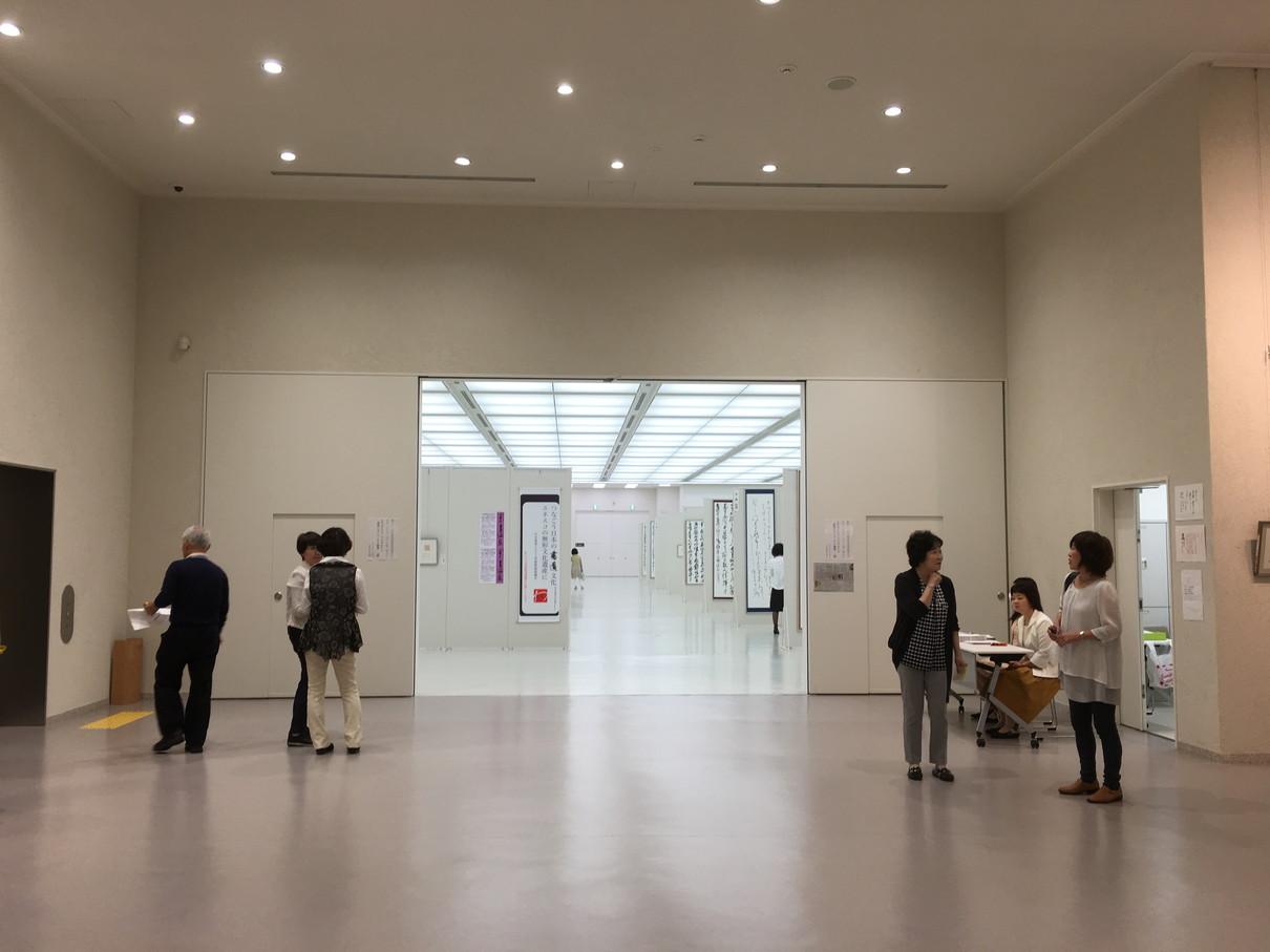 第52回兵庫県書道展会場 (8)