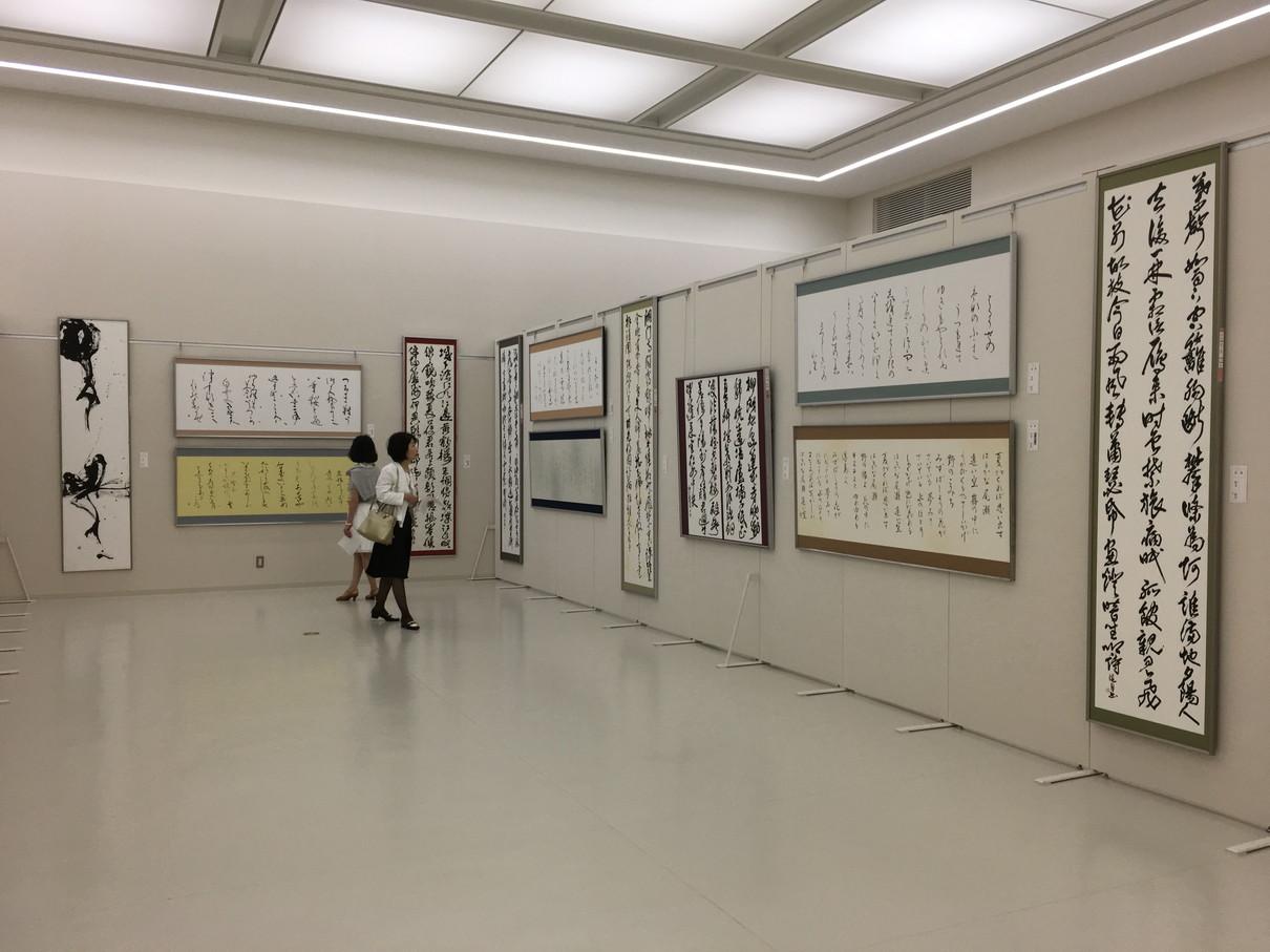 第52回兵庫県書道展会場 (15)