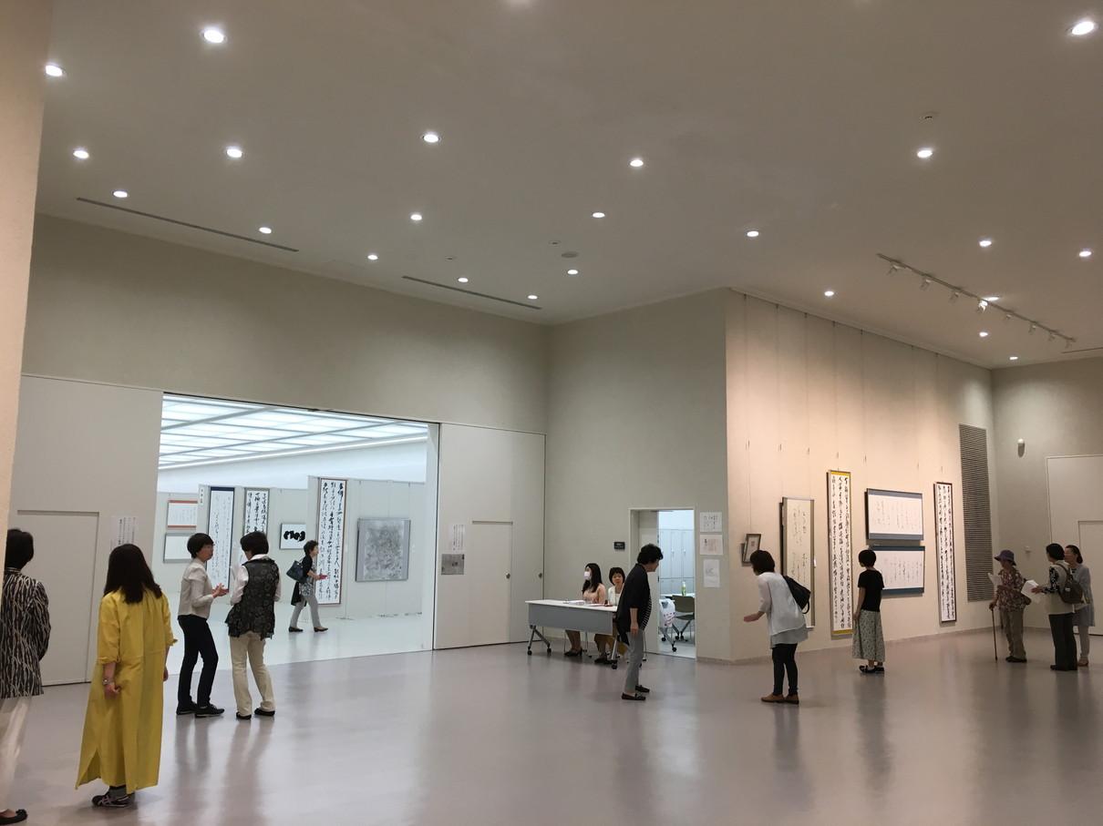 第52回兵庫県書道展会場 (10)