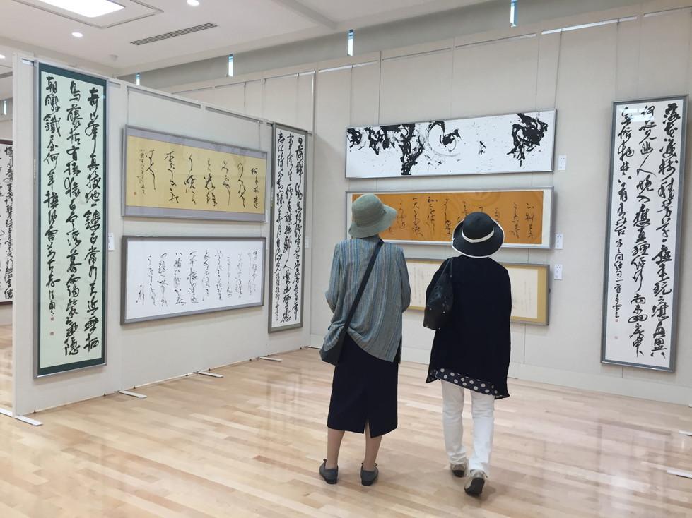 第52回兵庫県書道展会場 (57)
