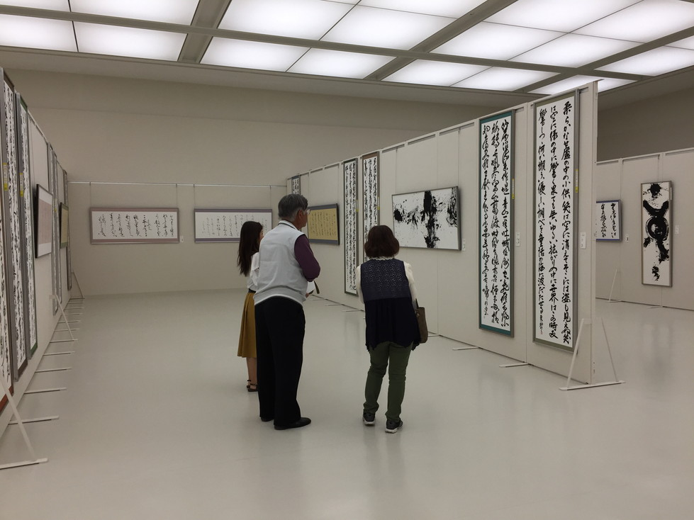 第52回兵庫県書道展会場 (43)