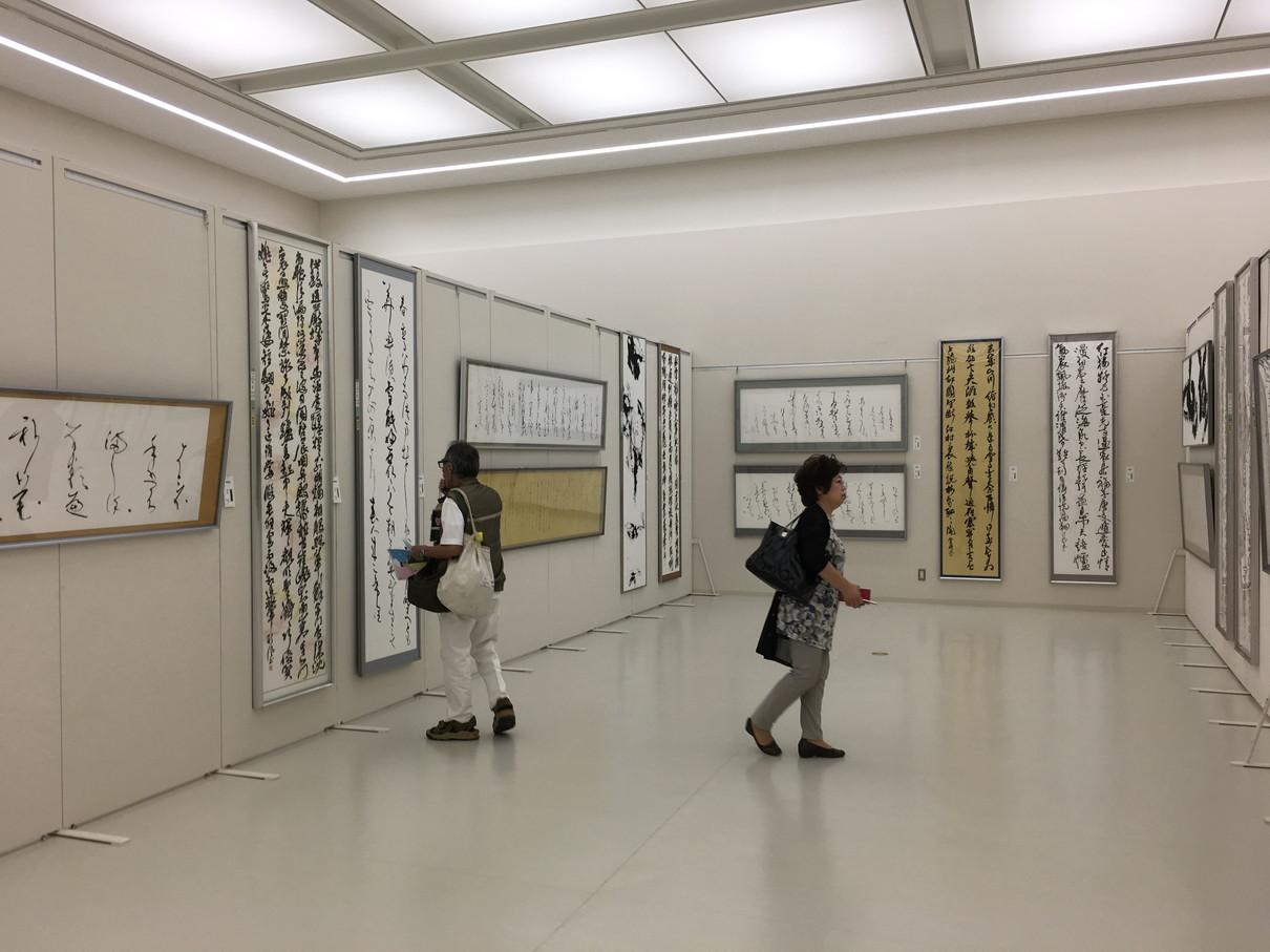 第52回兵庫県書道展会場 (14)