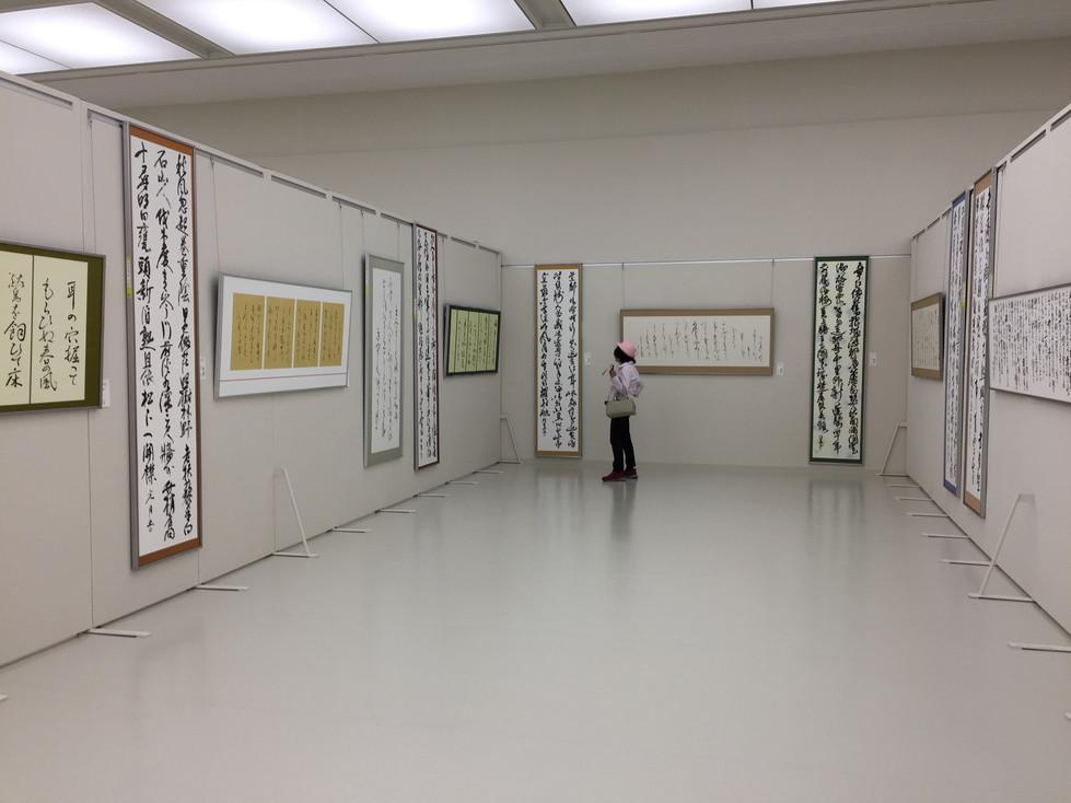 第52回兵庫県書道展会場 (37)
