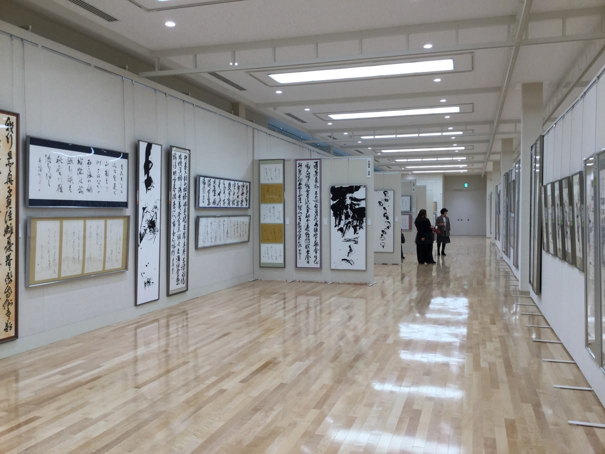 第53回兵庫県書道展会場 (3)