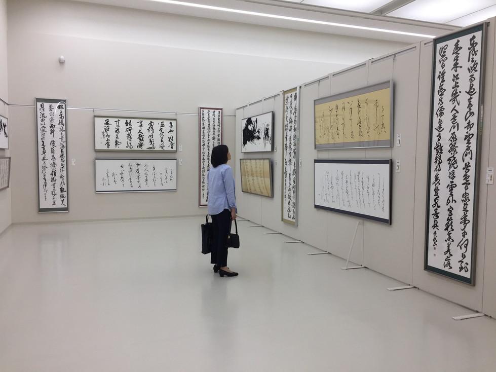 第52回兵庫県書道展会場 (50)