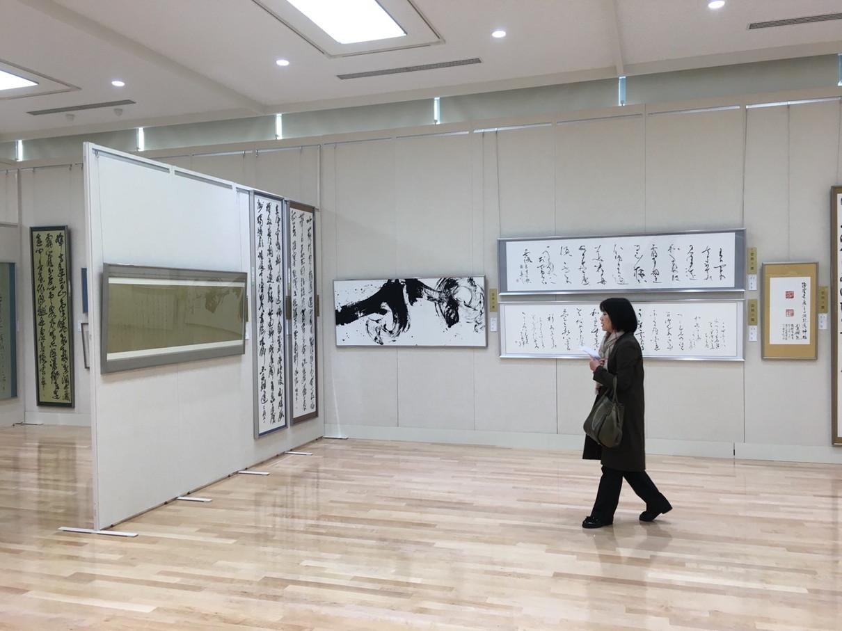第53回兵庫県書道展会場 (74)