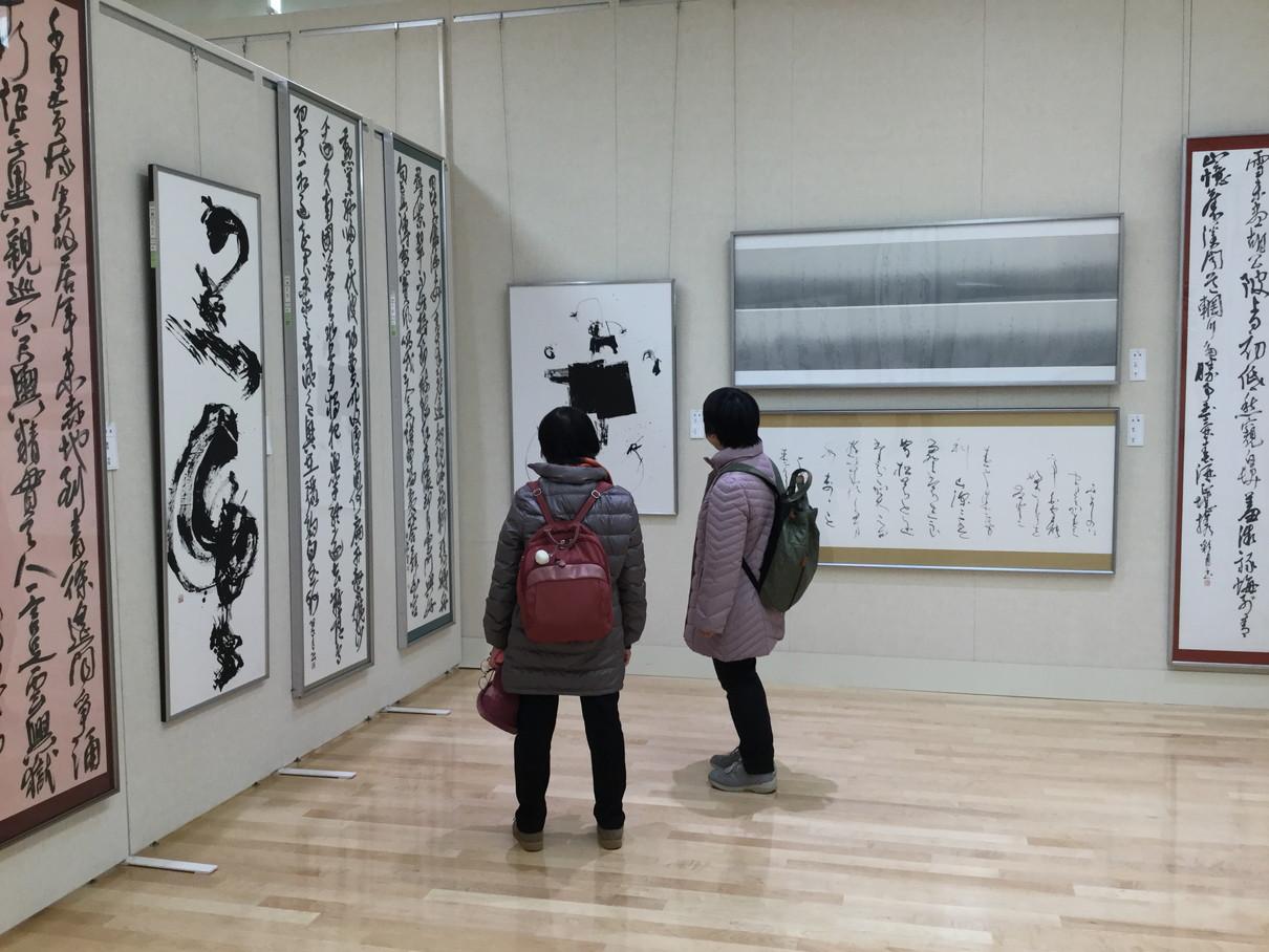 第53回兵庫県書道展会場 (7)