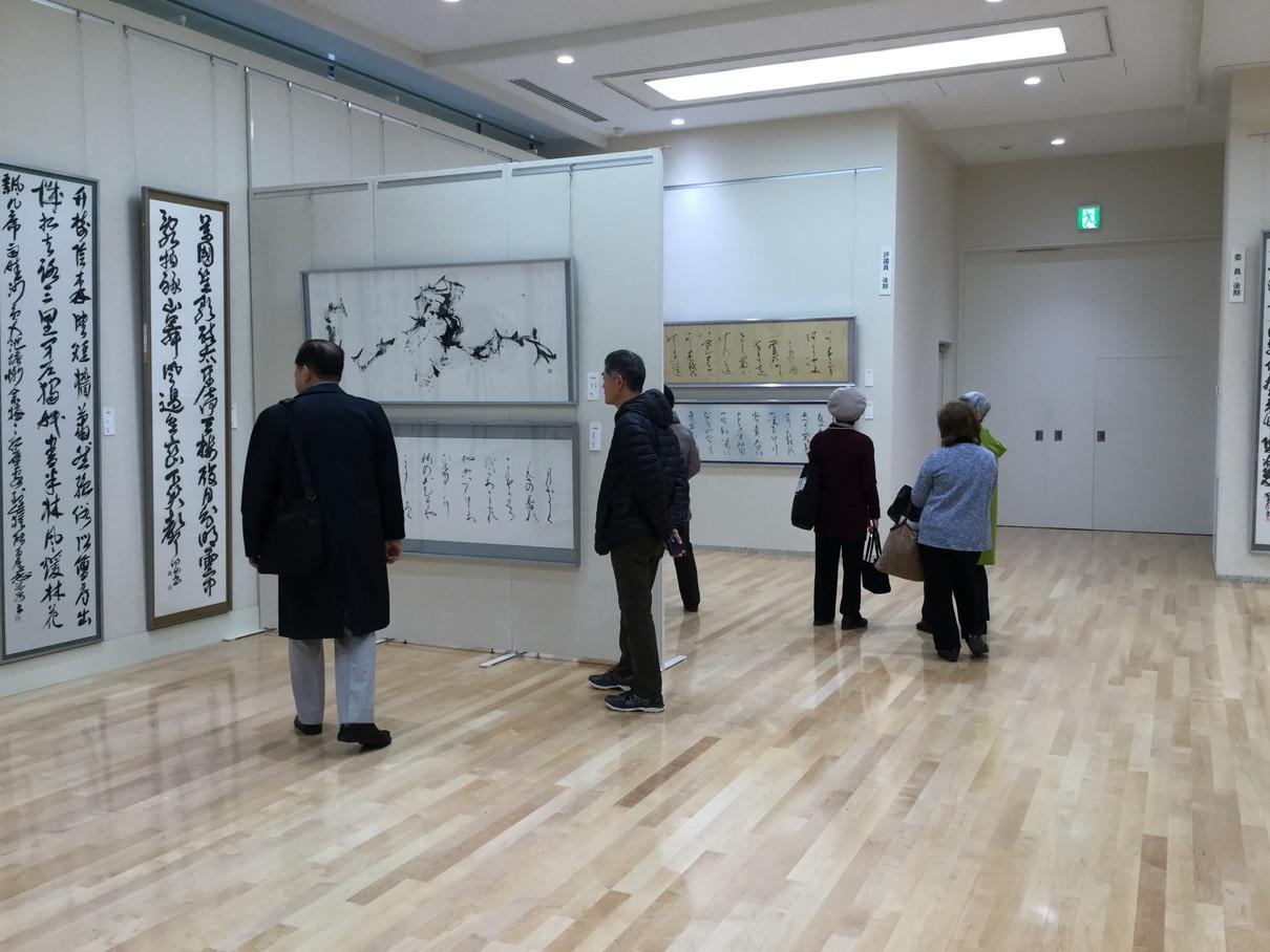 第53回兵庫県書道展会場 (14)