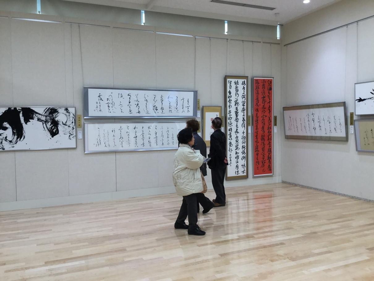 第53回兵庫県書道展会場 (13)