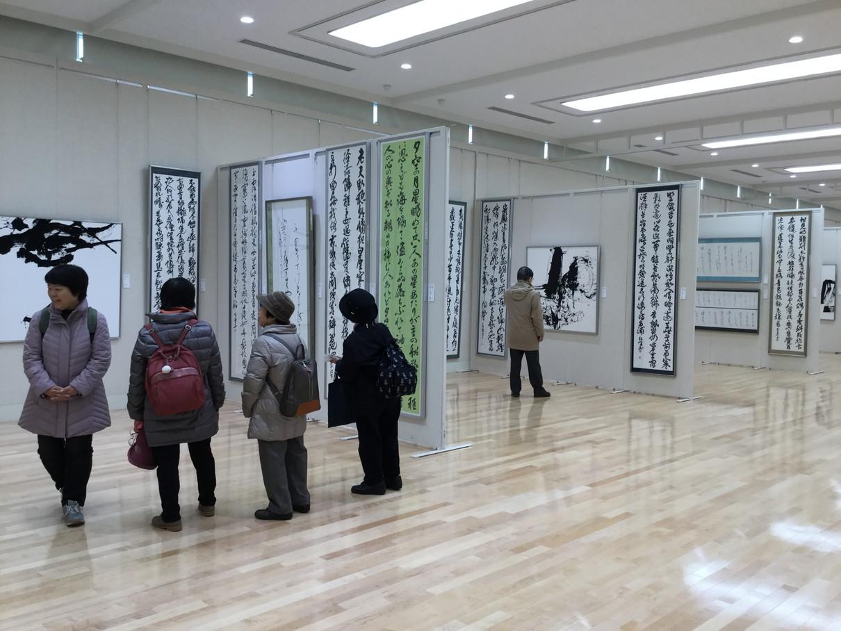 第53回兵庫県書道展会場 (16)